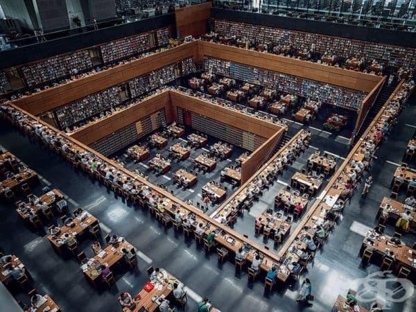 Националната библиотека на Китай в Пекин.