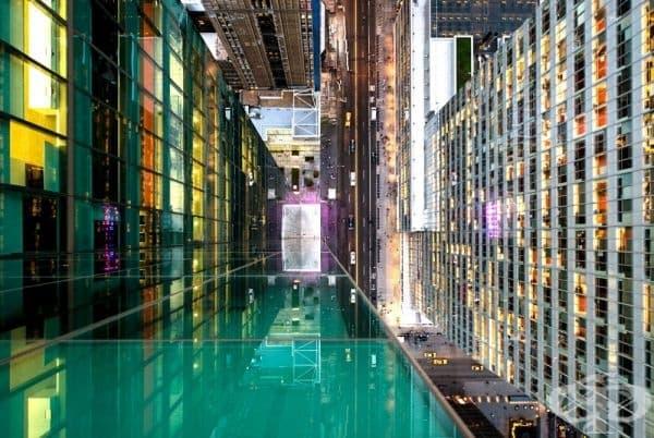 """Гледката от небостъргач напомня на сцена от """"Interstellar""""."""