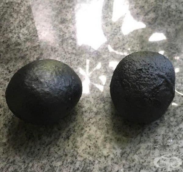 Това са 2 кръга, но не и авокадо.