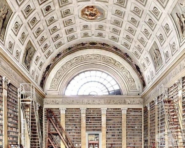"""Библиотека """"Палатин"""", Парма Италия."""