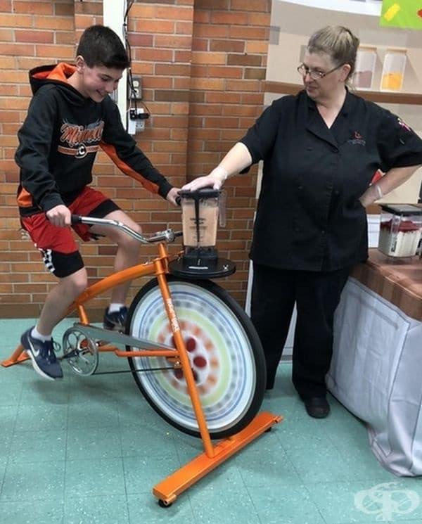 Велосипед за шейкове.
