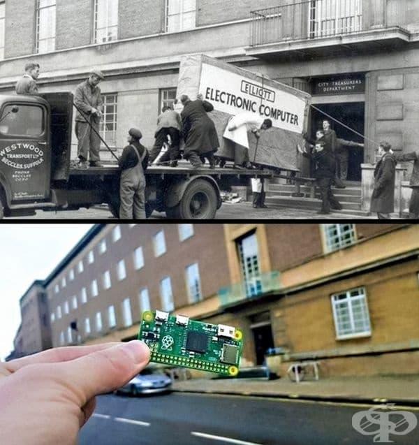 Прогресът за 58 години.