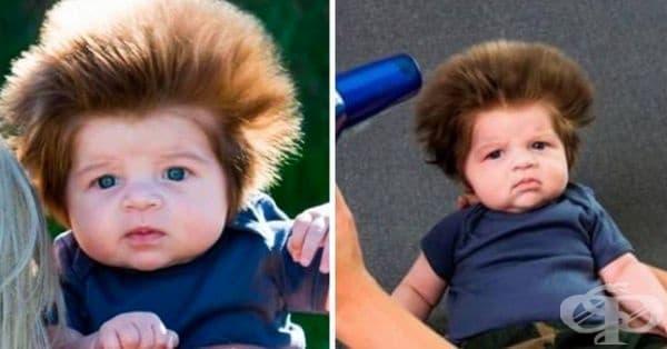 Снимките на това момченце бързо завладяха интернет потребителите. Видимо защо.