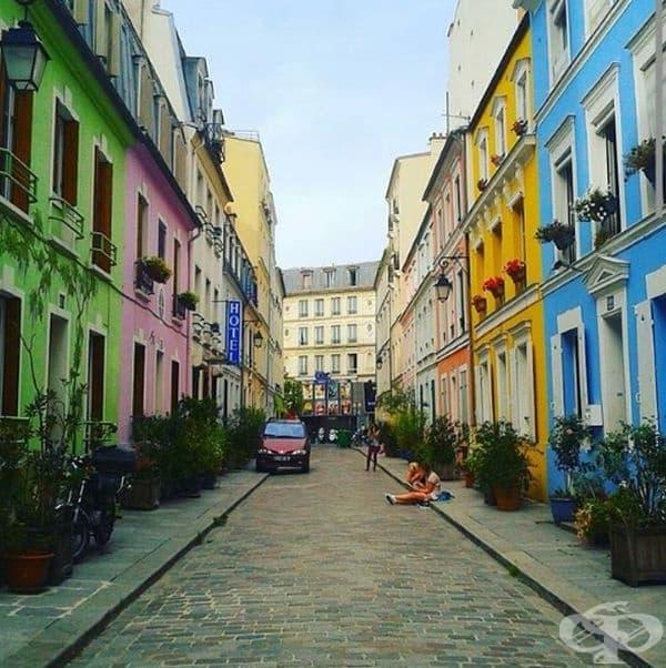 Улица Кремио, Париж, Франция.