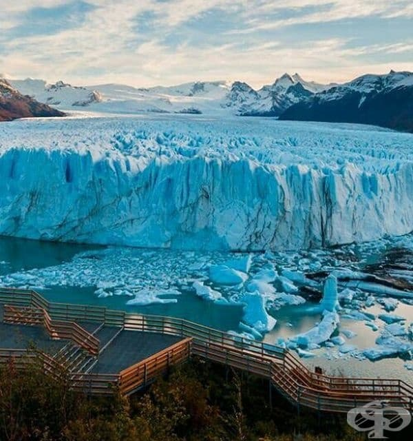 Ледник Перито Морено, Аржентина