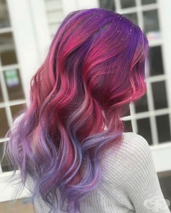 Актуално е да се боядиса цялата коса, кичури или краищата на косата.