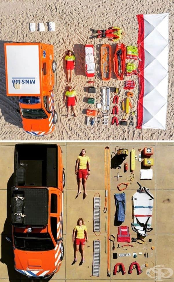Спасителни служби в Хагланден
