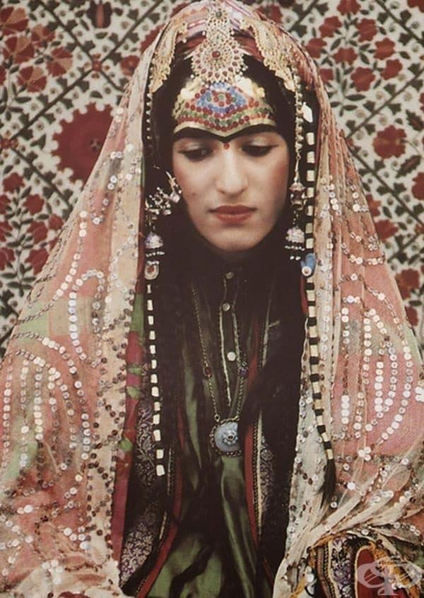 Афганистанска еврейска булка