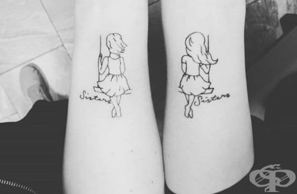 30 татуировки, изразяващи специални отношения много по-добре от всички думи