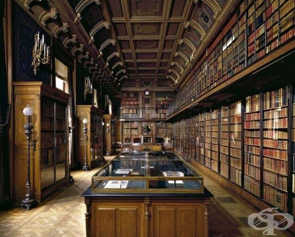 """Библиотека """"Duke D'aumale"""", Сицилия, Италия."""