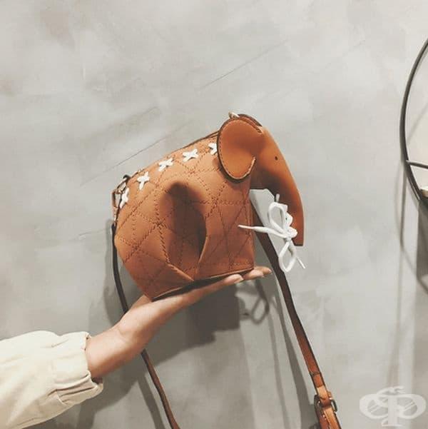 Чанта във вида на слон.
