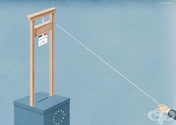 Бъдещето на Европа виси на нишка.