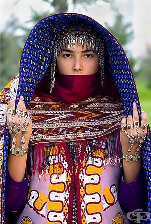 Туркменска булка