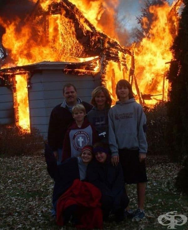Няма друга такава семейна снимка!