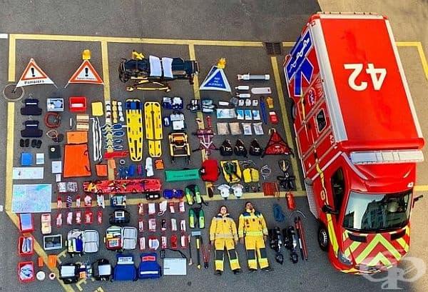 Пожарна служба в Женева, Швейцария