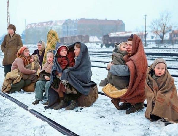 Полски бежанци.