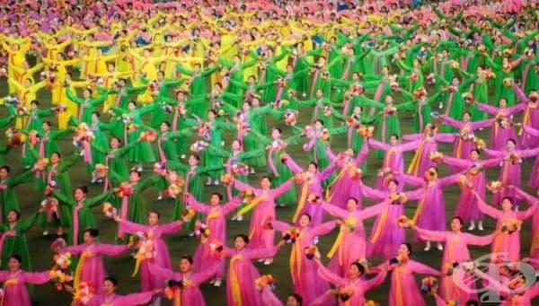 Празник в Северна Корея.