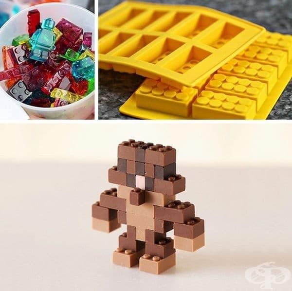 Бонбони, особено за онези, които винаги са искали да опитат тези малки парчета Лего.