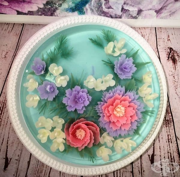 3D желирани торти, които няма да се осмелите да развалите