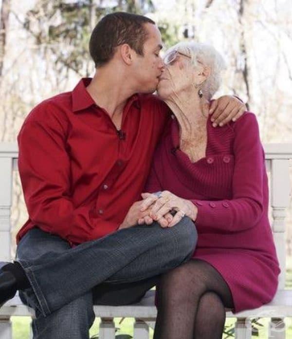 За влюбените годините нямат значение.