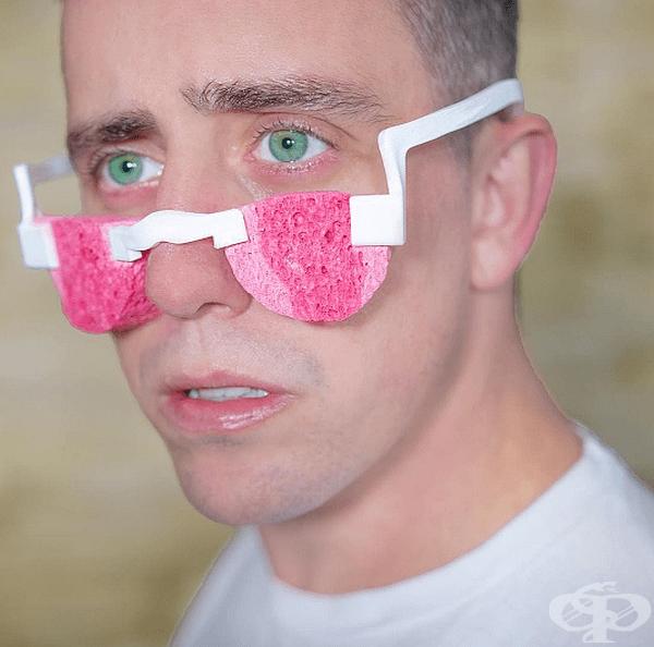 Очила за събиране на сълзи.