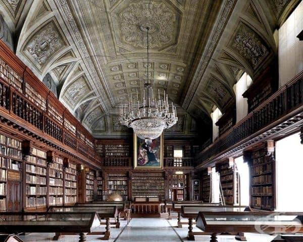 """Национална библиотека """"Брейдън"""", Милано, Италия."""