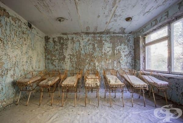 Изоставена болница в Украйна.