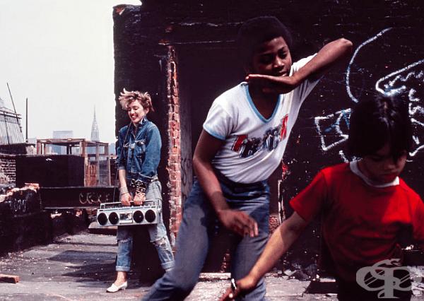 """Но все пак и до днес най-известният му проект е """"Мадона NYC 83"""", който излиза 30 години след това и все още е актуален."""