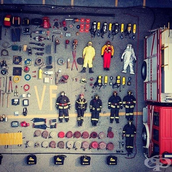 Пожарникари от Италия