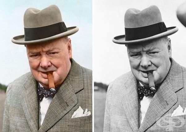 Уинстън Чърчил.