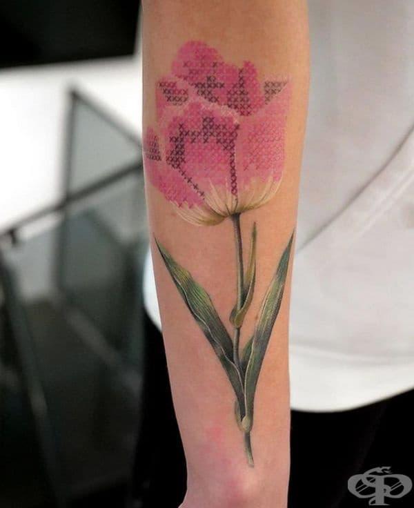 30 татуировки, които изглеждат като бродирани