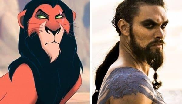 "Скар - ""Цар лъв"""