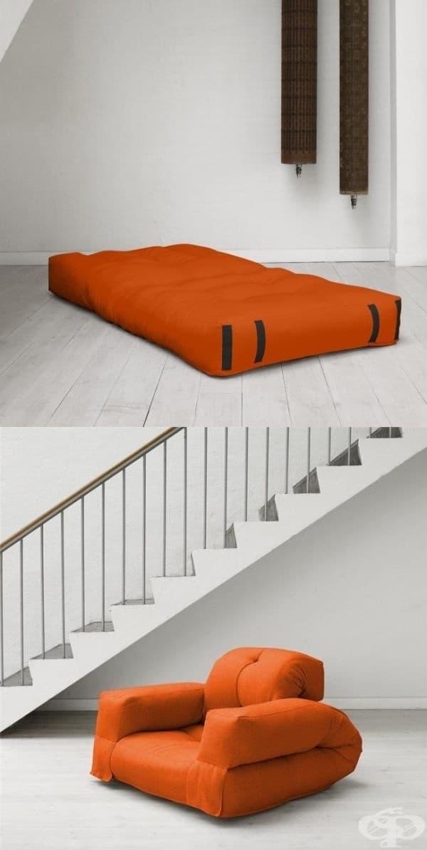 Разтегателен фотьойл - за любителите на минималистичния подход.