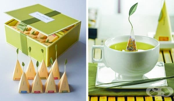 Чай ит различни билки.