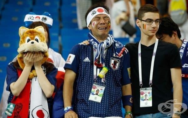 Япония загуби от Белгия 3:2.
