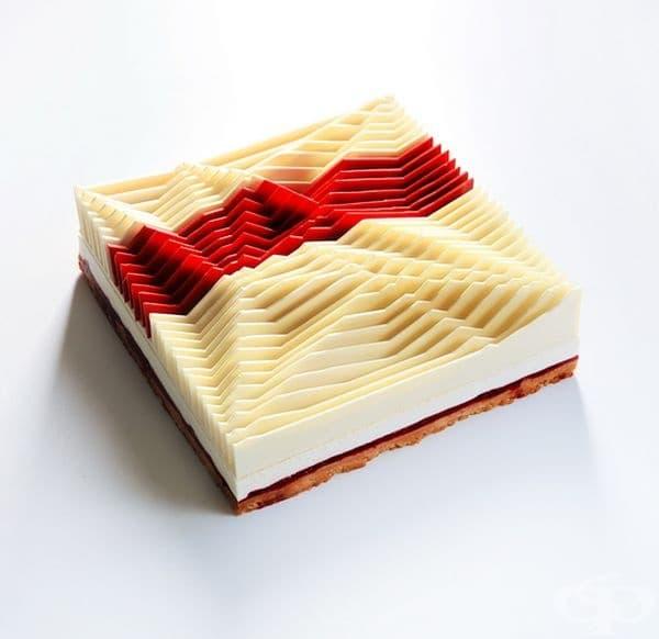 Геометрична кинетична торта № 1.