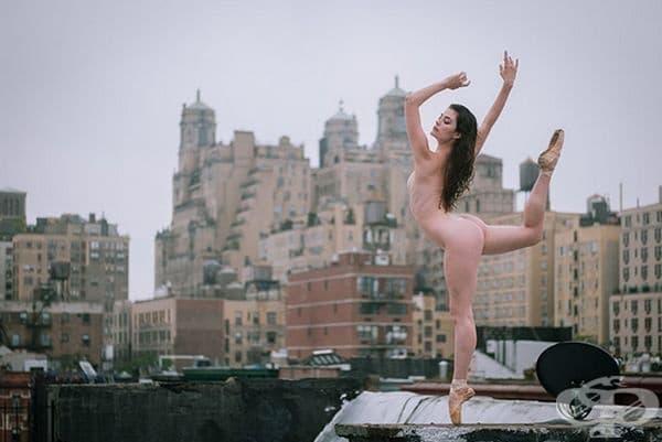11 професионални танцьора в смразяващи снимки на покрив в Ню Йорк