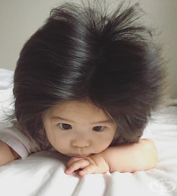 Това дете изглежда прекрасно!