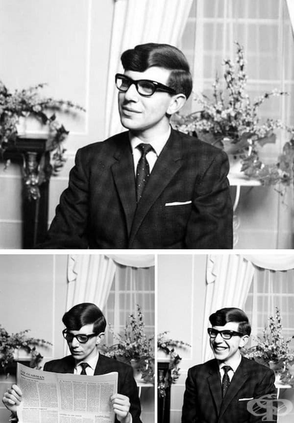 През 1963 г. учи магистратура в Кеймбридж. През тази година е диагностициран с АЛС (амиотрофична латерална склероза - рядка форма на дегенеративно моторно невронно заболяване).