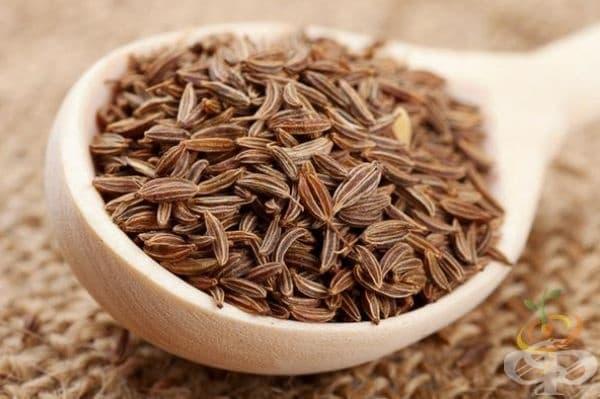 Кимион. Ако искате да отслабнете, консумирайте кимион. Чай с подправката намалява апетита и подобрява храносмилането.
