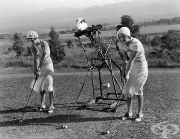 Робот в ролята на голф треньор, 1925 г.