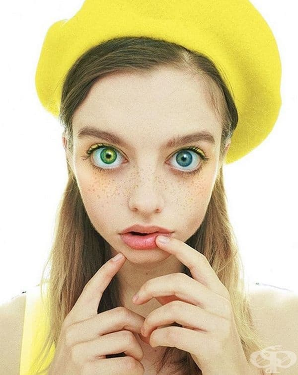 Ще се изгубите в тези големи зелени очи.