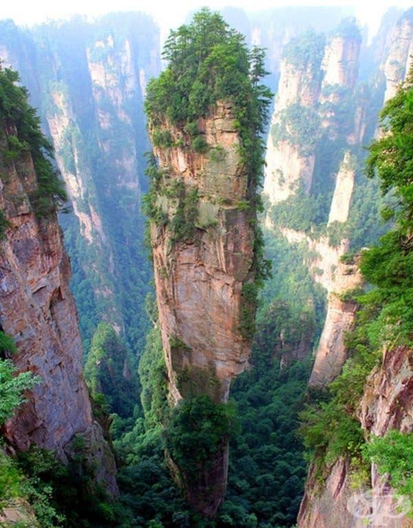Планините на Тиендзин, Китай.