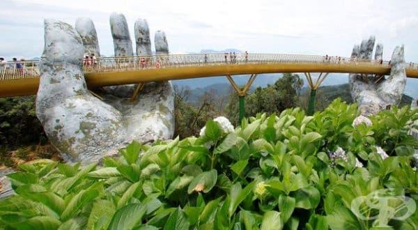 Във Виетнам откриха внушаващ мост с нестандартен дизайн