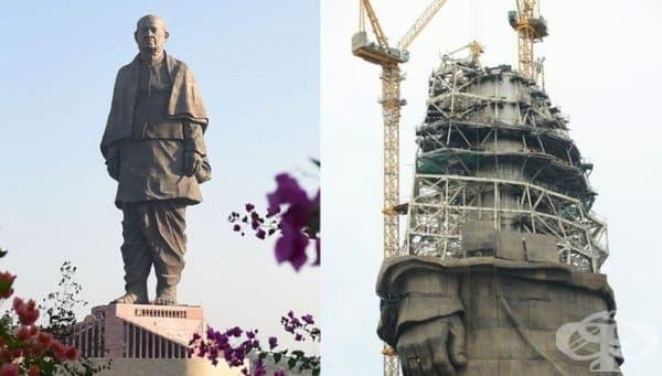 2 400 души са работи по изграждането на монумента.