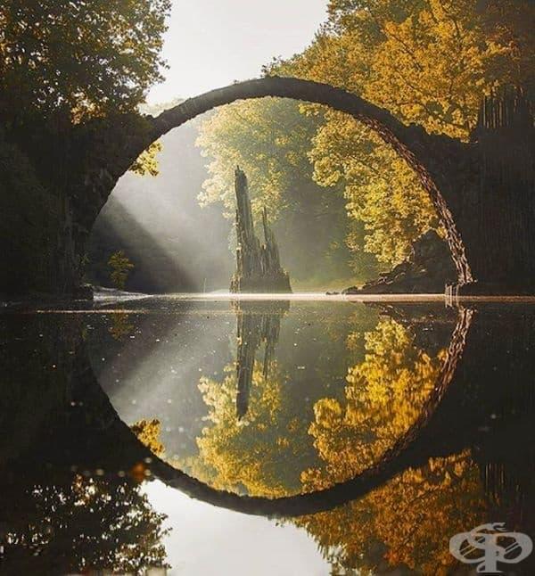 Дяволски мост в Габленц, Германия