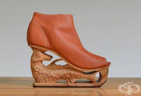 20 дизайнерски обувки с дърворезба, които определено ще ви впечатлят