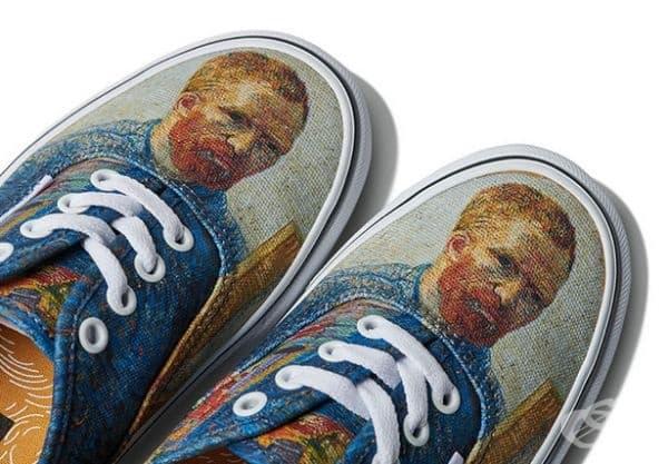 Компанията Vans и музеят Винсент Ван Гог в Амстердам се събраха, за да създадат модна колекция Vans x Vincent Van Gogh.