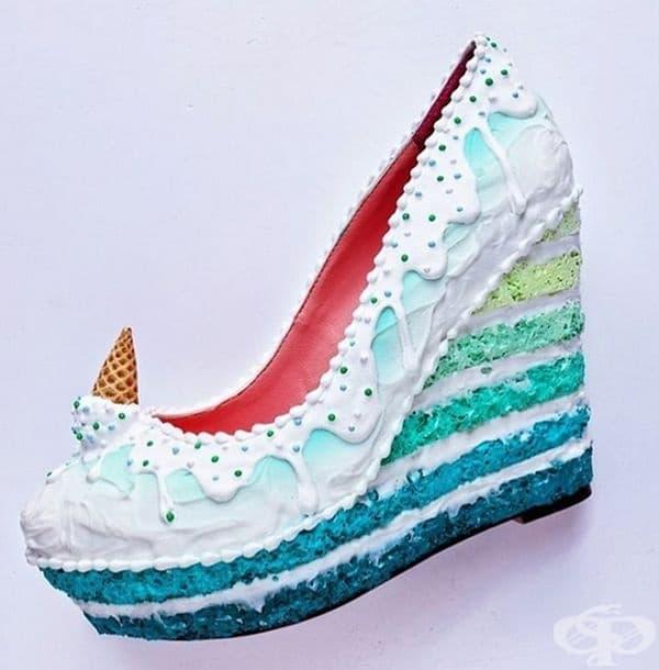 35 чифта обувки с визия на професионални сладкиши