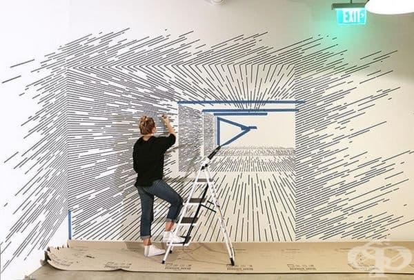 Творбите й са истинска комбинация от изкуство и математика.